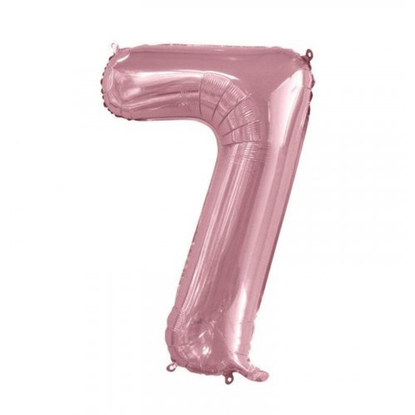 Number 7 Megaloon - Light Pink