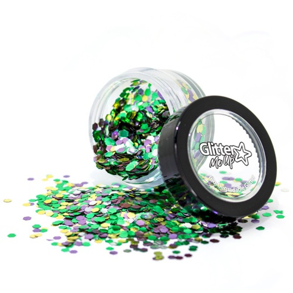 Bio Degradable Loose Glitter Blend - Rainforest