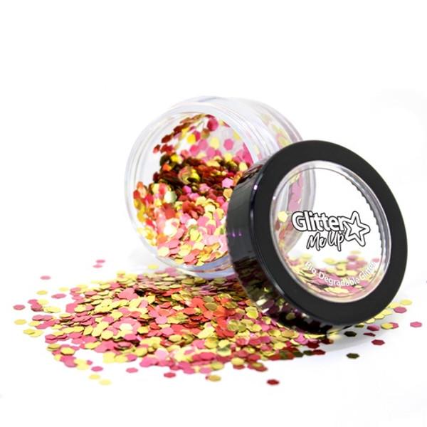 Bio Degradable Loose Glitter Blend - Rose Gold