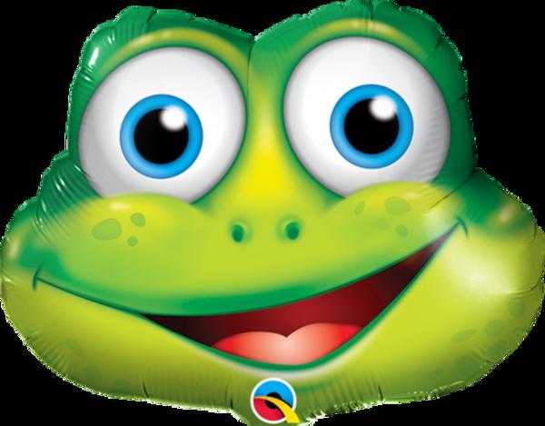 Funny Frog SuperShape Foil Balloon