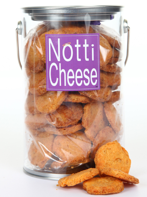 Notti Cheese Wafers 1 Pound Pail