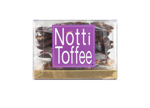 Notti Toffee Dark Chocolate Pretzel 1/2 Pound Box