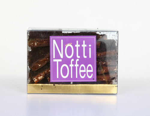 Notti Toffee Dark Chocolate Coffee Pretzel 1/2 Pound Box