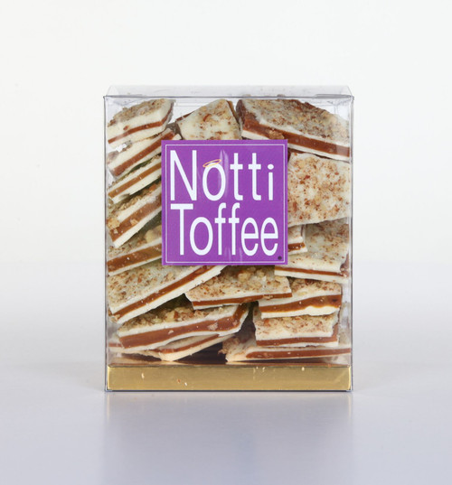 Notti Toffee White Chocolate Pecan 1 lb Box