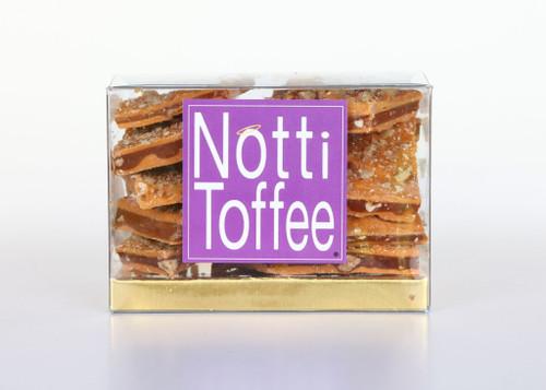 Notti Toffee Butterscotch Pecan 1/2 Pound Box