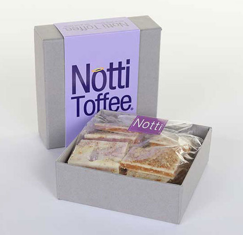 Notti Toffee White Chocolate Pretzel 1/2 Pound Box