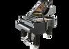 Feurich 179 Dynamic II  Grand PIano in Black Polished - Chrome