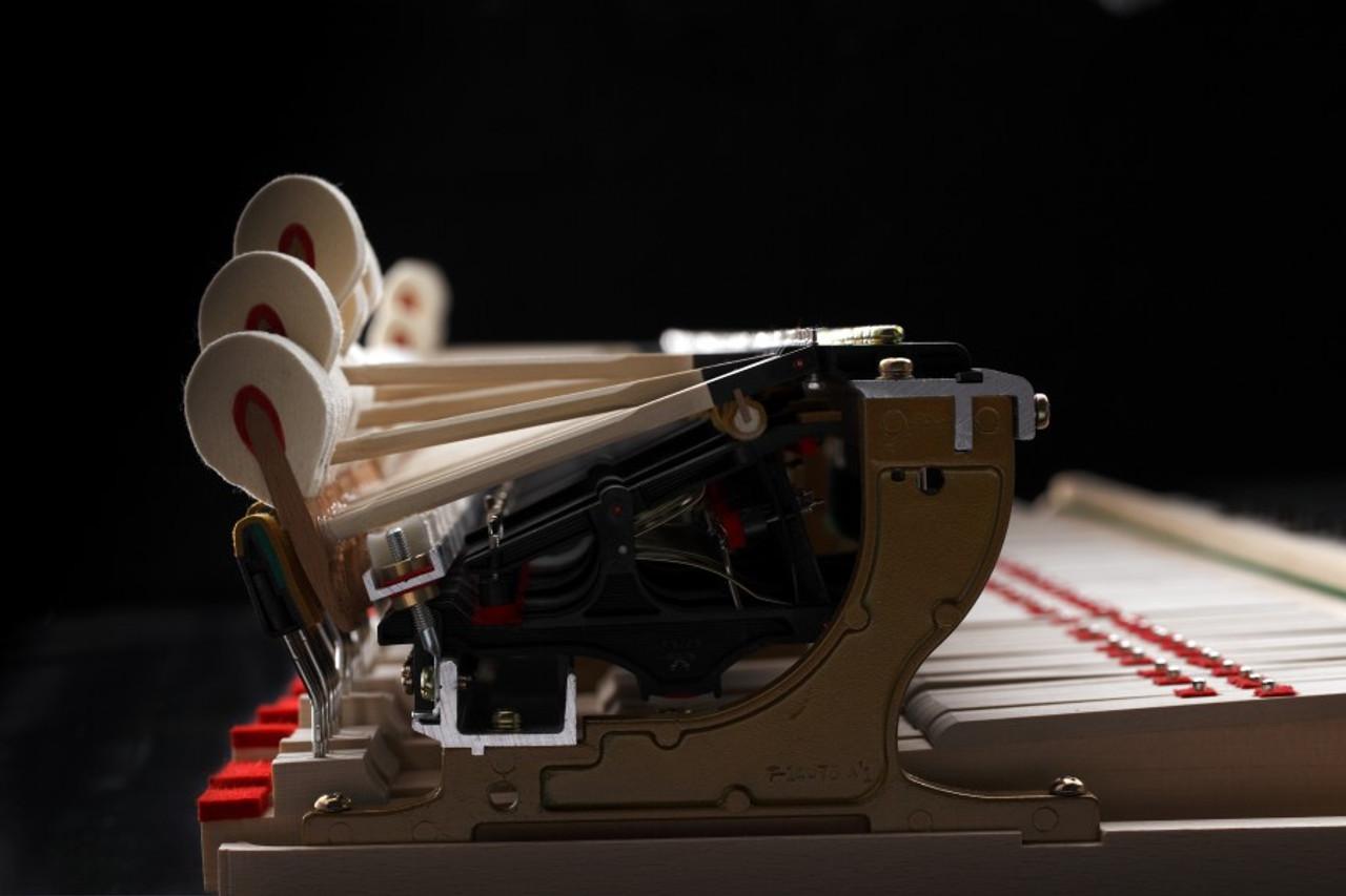 Advances Carbon Fibre elements as part of Piano Action