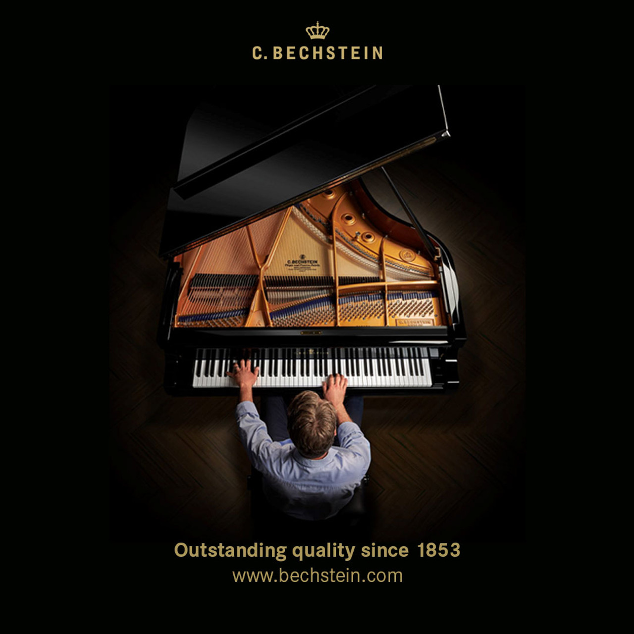 C.Bechstein A190-EP grand piano