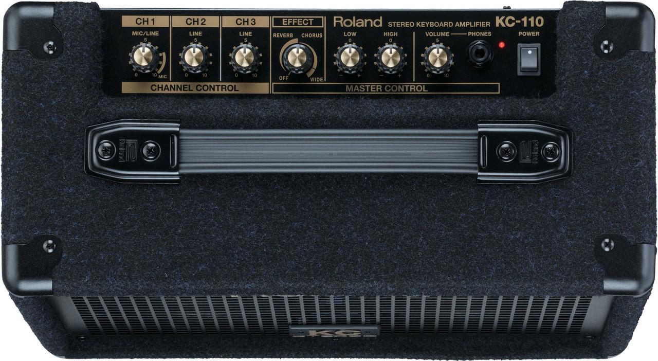 Roland KC-110-Keyboard Amplifier , Top