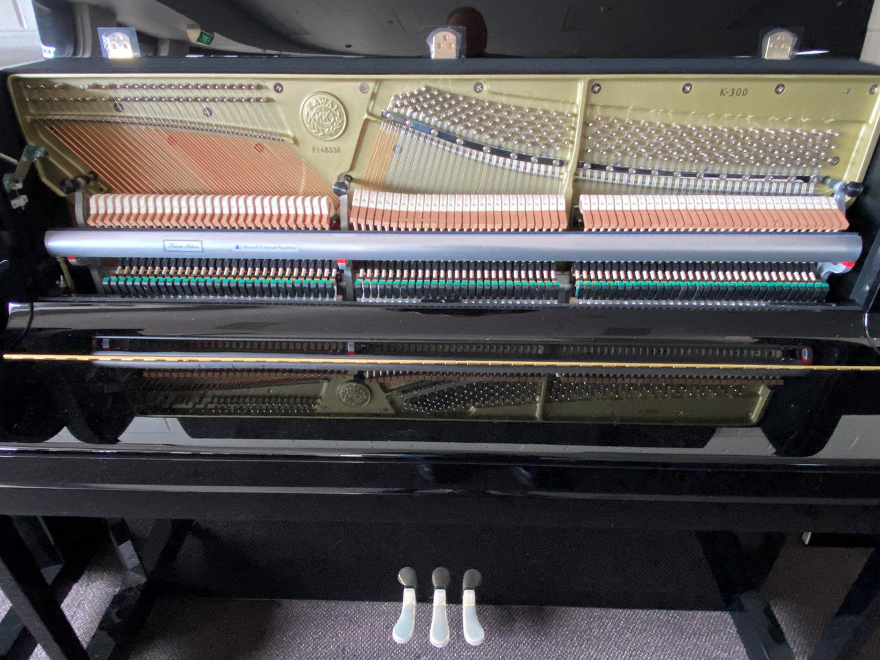Excellent example of Kawai's famous craftsmenship. Comes with a 12 Year Kawai Piano Warranty.
