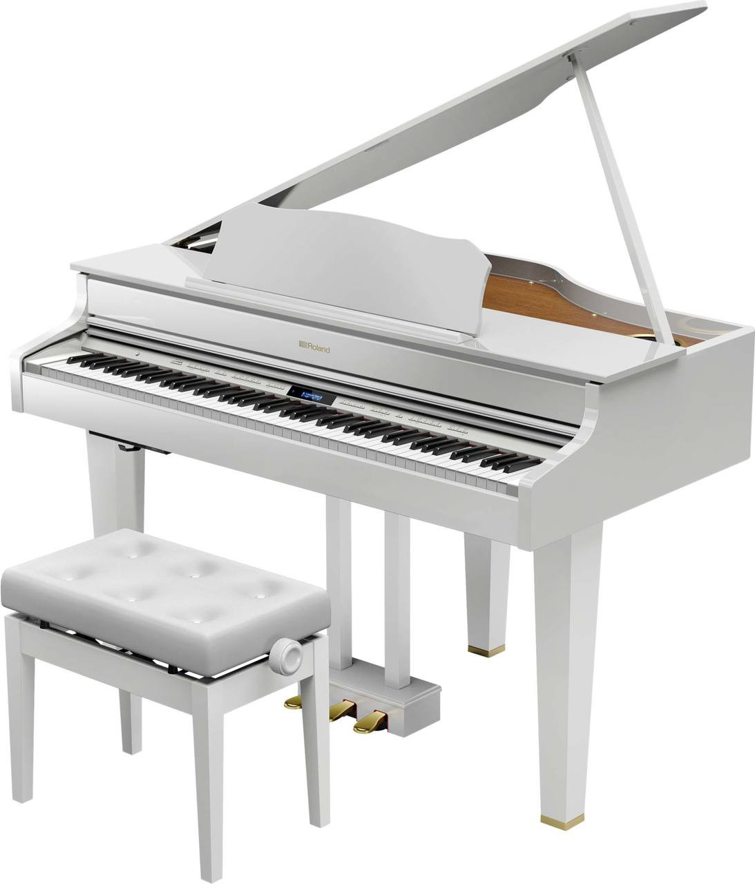 Roland GP607 In White Gloss Finish