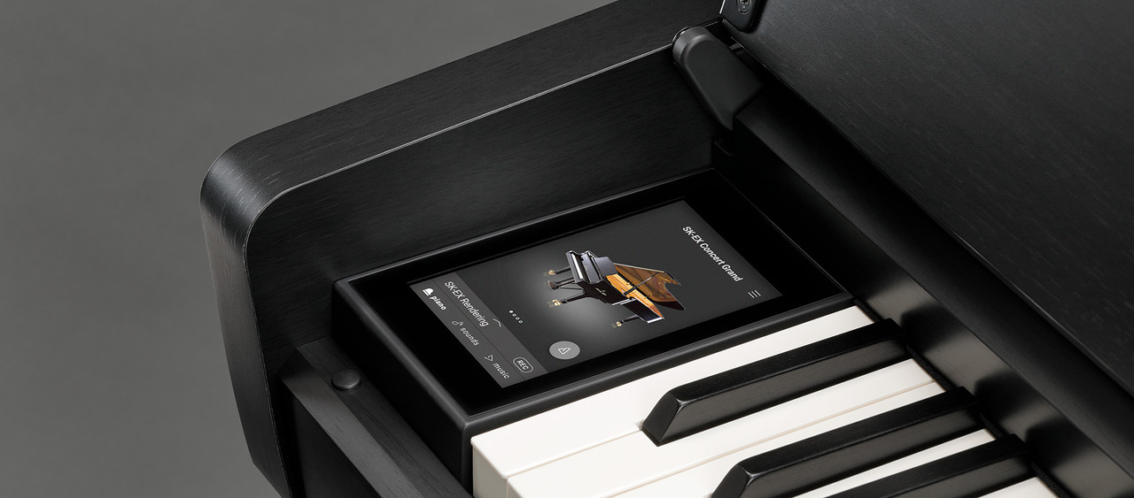 Find deep, precise control with the tip of a finger, craft the perfect piano sound with Virtual Technician, and connect just about anything, with pro grade components throughout.
