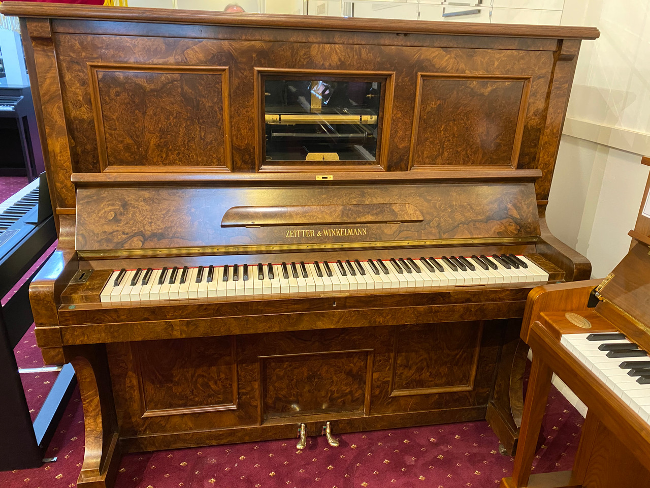 Zeiter & Winkelmann Player Piano