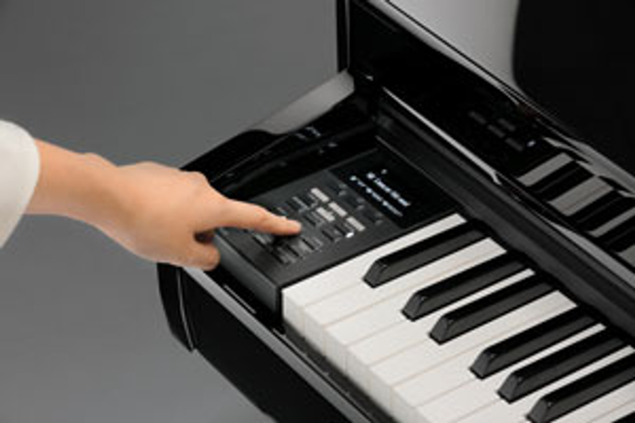 The recorder on the DG30 allows up to three songs to be stored in internal memory and played back at the touch of a button. This functionality is expanded with 2-track recording that allows left and right-hand parts (or two different voices) to be recorded separately. Players can play back the left-hand part while practicing the right-hand part live—or vice versa—to strengthen hand independence.