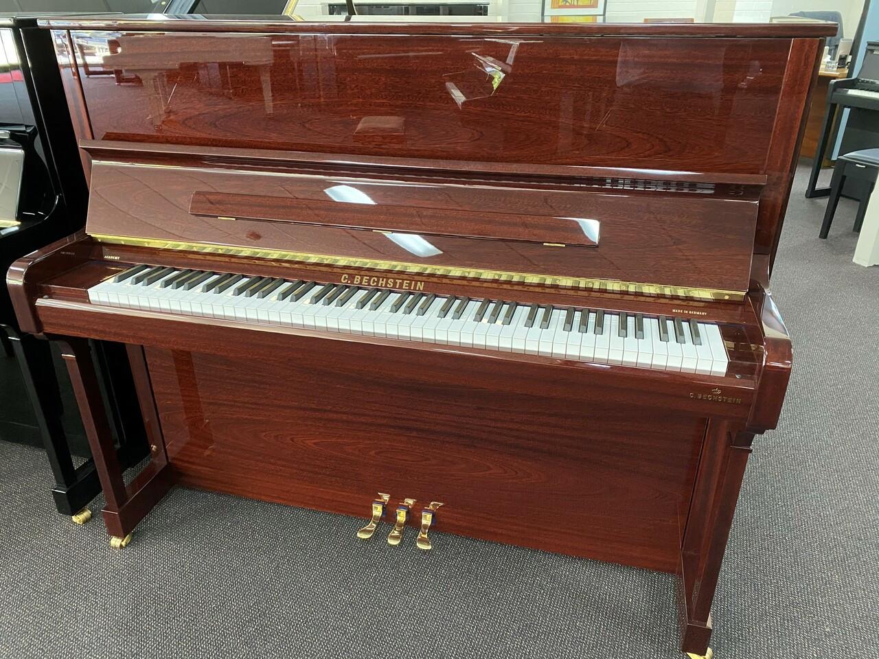 C.Bechstein A124 Academy style Piano Mahogany