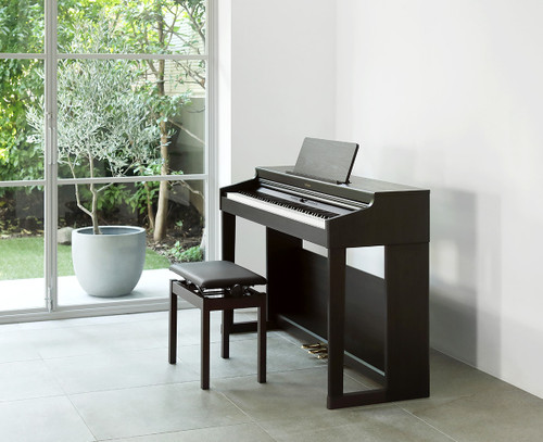 Roland RP701 piano, loooks just great in any room.