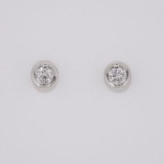 Diamond Solitaire Earrings ER10825