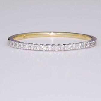 9ct gold diamond ring ET1322