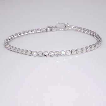 18ct white gold diamond bracelet BRA5652