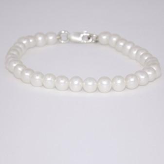 Cultured freshwater pearl bracelet CFWP634