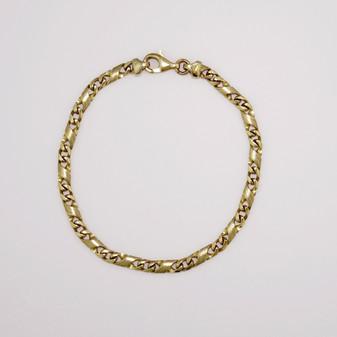 9ct yellow gold bracelet BRA4219