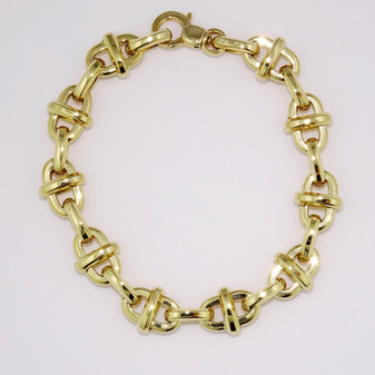 9ct yellow gold bracelet BRA5623
