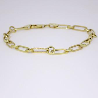 9ct yellow gold bracelet BRA5538