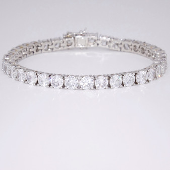 Silver CZ bracelet SBRA37