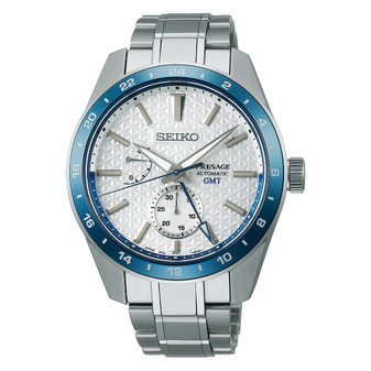 Seiko Presage Sharp Edged GMT: Limited Edition 140th Anniversary SPB223J1
