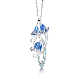 Sheila Fleet Bluebell necklace