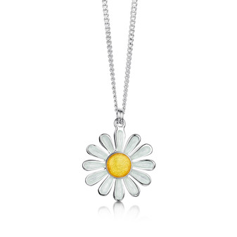 Sheila Fleet Daisies At Dawn necklace