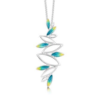 Sheila Fleet Seasons necklace Summer enamel