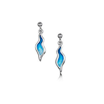 Sheila Fleet River Ripples Earrings