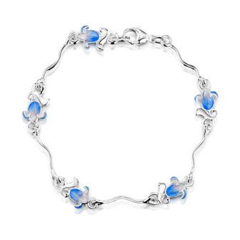 Sheila Fleet Bluebell bracelet