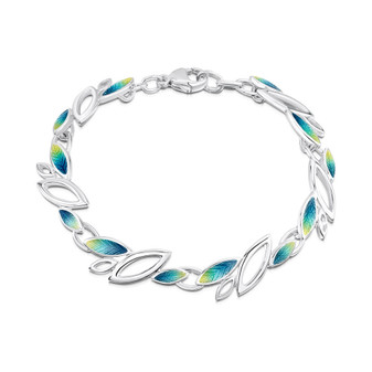 Sheila Fleet Seasons bracelet - Summer enamel