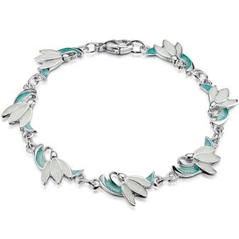 Sheila Fleet Snowdrop bracelet
