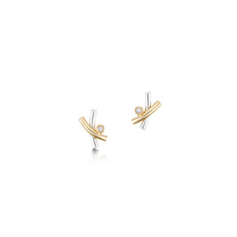 Sheila Fleet Kiss earrings