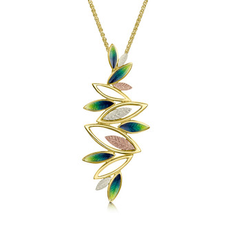 Sheila Fleet Seasons 18ct gold necklace