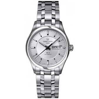 Gents stainless steel Certina DS-4 automatic watch on bracelet C022.430.11.031.00