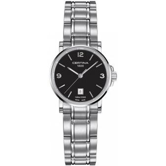 Ladies' stainless steel Certina Caimano quartz watch on bracelet C017.210.11.057.00