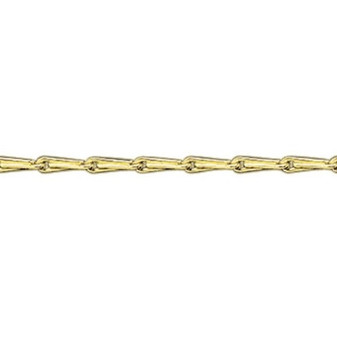 9ct yellow gold hayseed super heavy chain