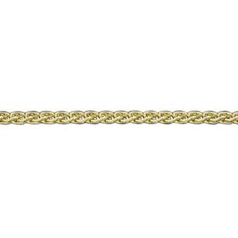 18ct yellow gold large spiga chain