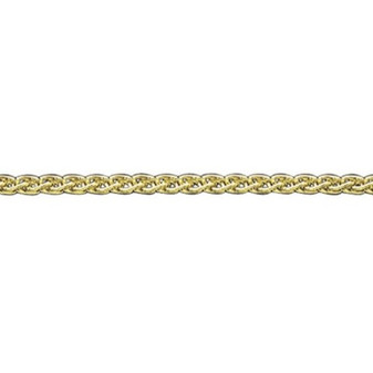 18ct yellow gold large spiga chain