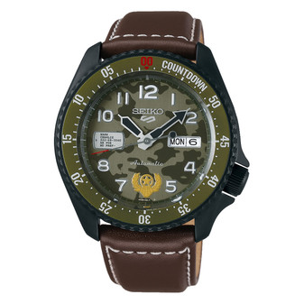 Seiko 5 Sports Street Fighter 'Guile' limited Edition SRPF21K1