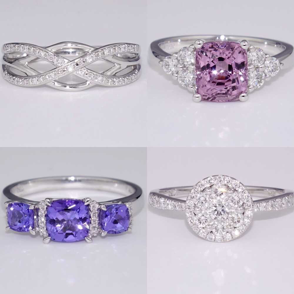 view our selection of rings