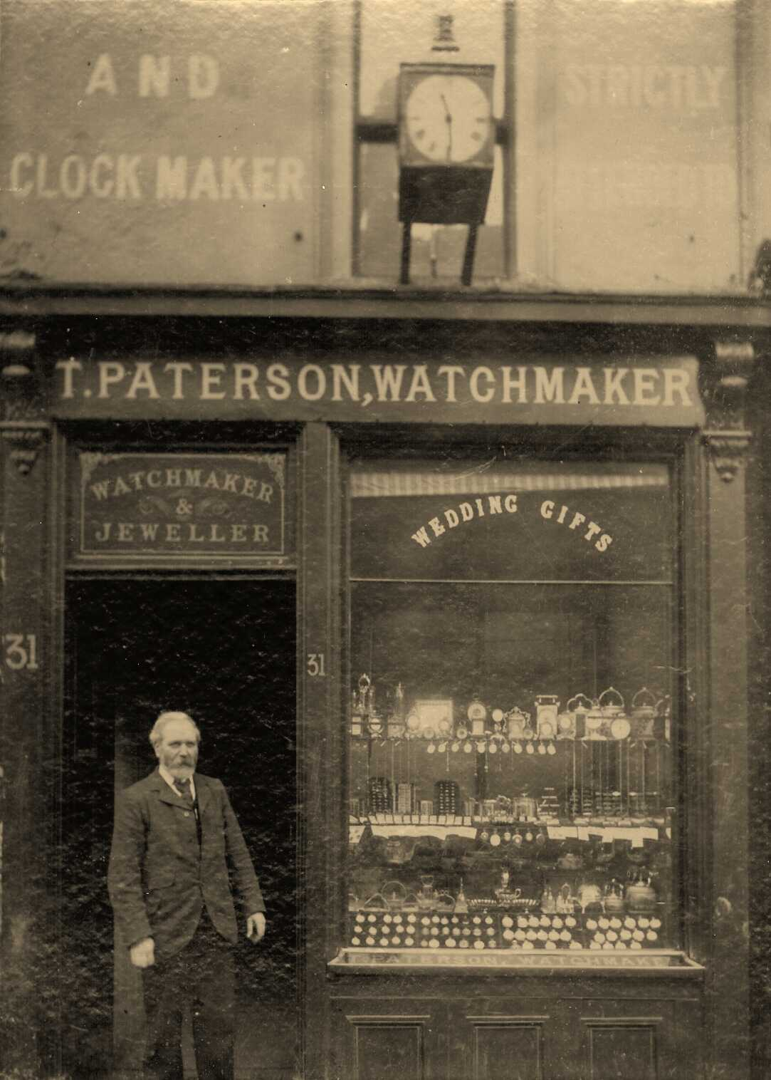 Thomas Paterson in 1880s