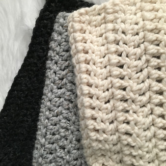 Crochet Blanket | Toddler Ombre | Ready to Ship