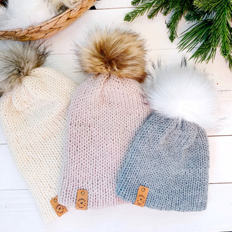 Double Knit Hat | Newborn to Adult | Made to Order