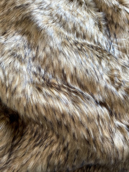 Wildcat Faux Fur Pompom Fabric